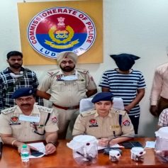 ludhiana police arrests man with