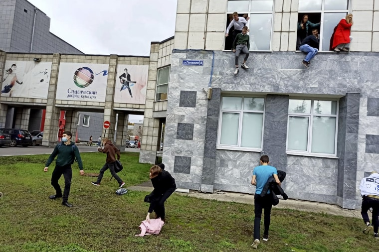 russia perm state university shooting