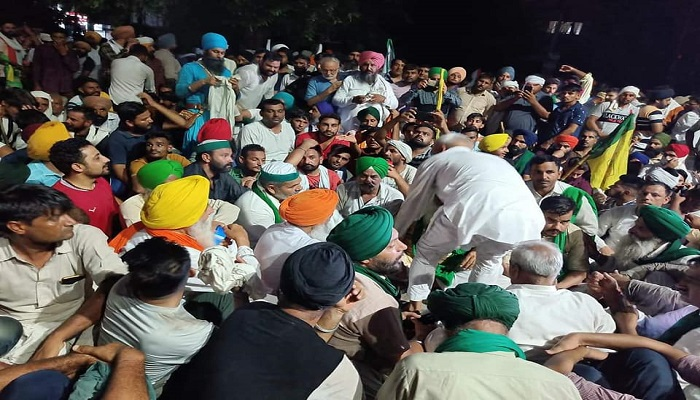 haryana govt then invited farmers