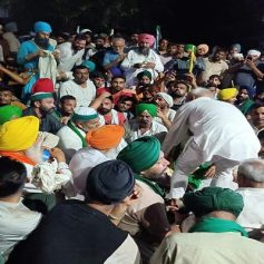 farmers protest in karnal