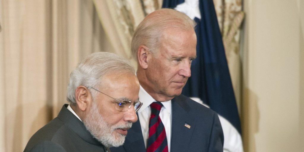 Modi Biden first meeting