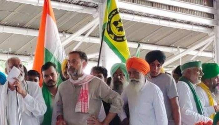 yogendra yadav on karnal farmers protest