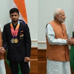 pm modi congratulates narwal and singhraj