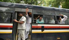 sukhbir badal harasimrat kaur taken in custody