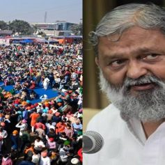 minister anil vij on farmers protest