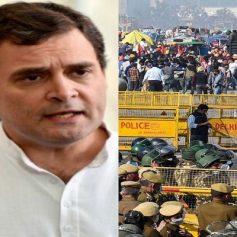 rahul tweet on farmers bharat bandh