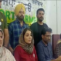 sonia mann announces kisan mahapanchayat