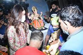 shilpa shetty celebrates festival