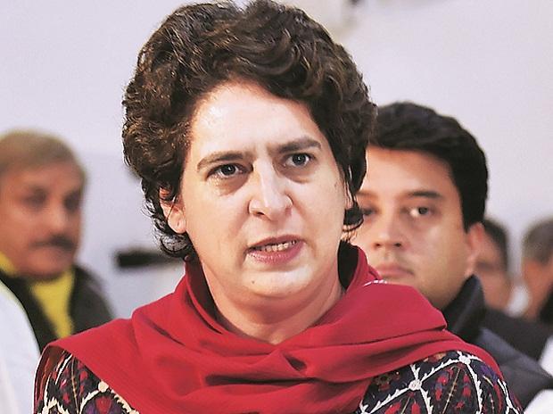 Priyanka gandhi support bharat bandh