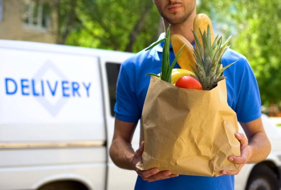Zomato grocery delivery service