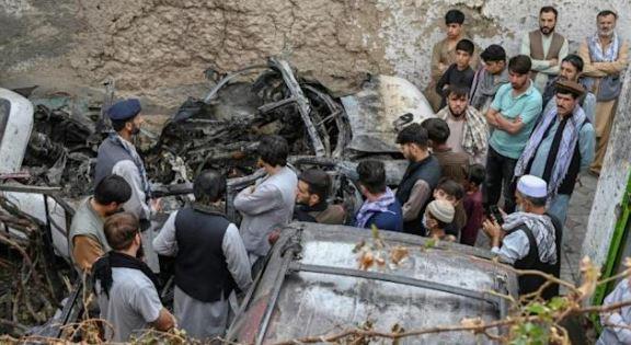 Kabul drone attack