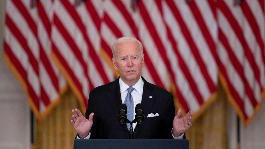 Billboards showing Joe Biden