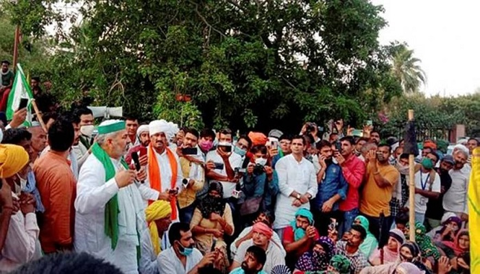bharat bandh farmer protest