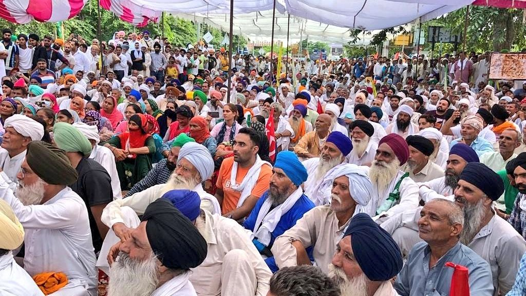 farmers meeting with political parties