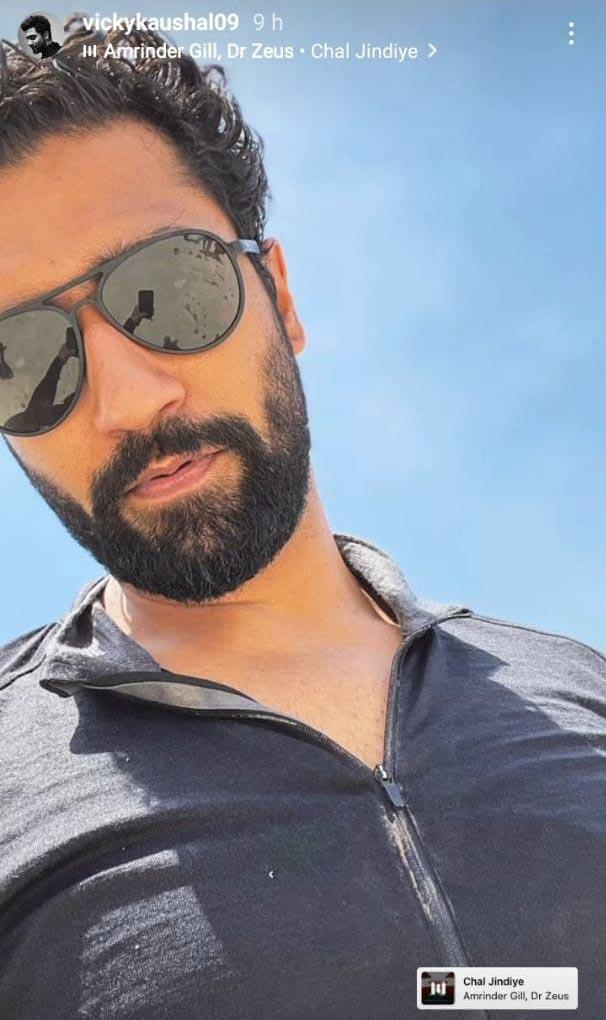 vicky kaushal shares amrinder