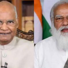 pm modi and president ramnath kovind