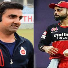 gambhir questions on kohli captaincy