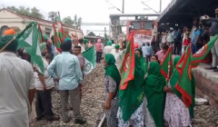 rail roko protest