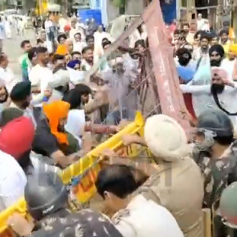 farmers protest in karnal today