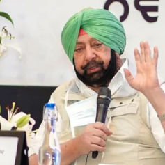 capt amarinder may float new party
