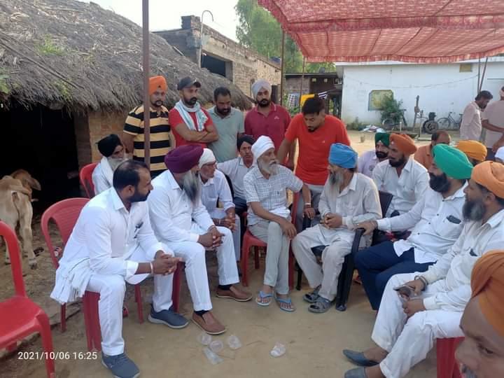 gurnam chaduni reached lakhimpur khiri