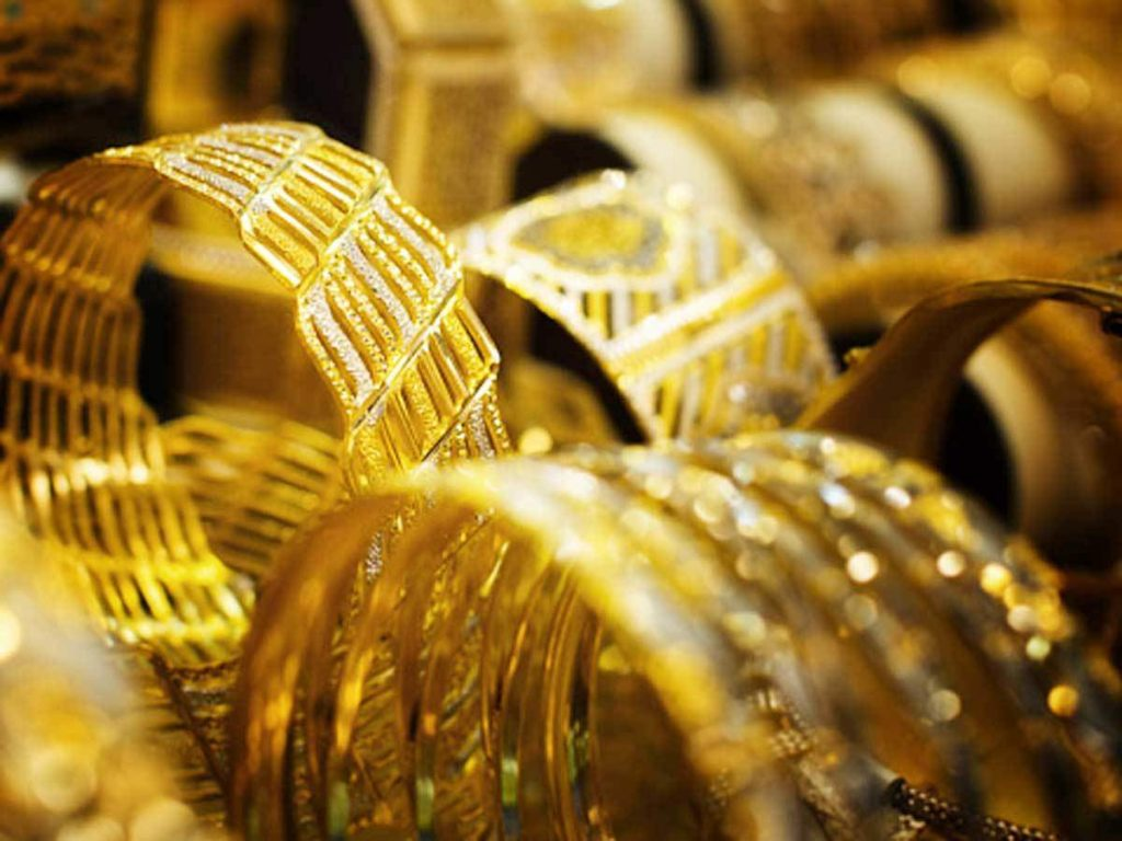 Gold price hike