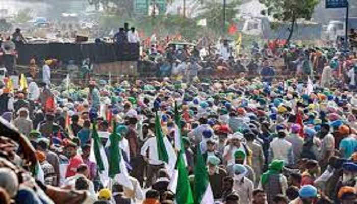 farmers protest 11 months of agitation