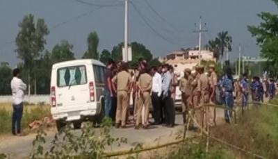 recreating crime scene in lakhimpur kheri