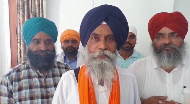 Akali Dal candidate Baldev Singh Manunke